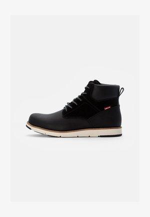JAX PLUS - Lace-up ankle boots - regular black
