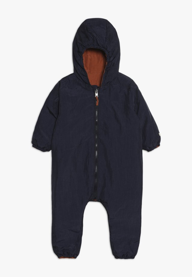 SNOW SUIT BABY  - Snowsuit - sudan brow/moonlight