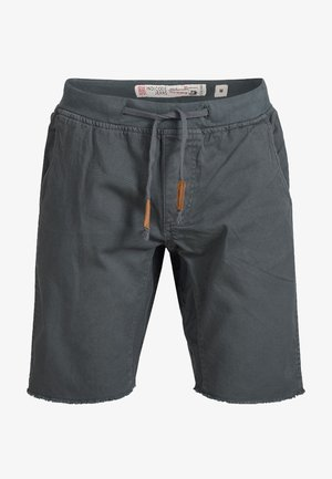 CARVER - Denim shorts - anthrazit