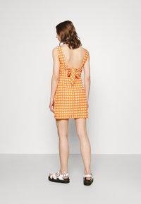 Glamorous - MAYA - Day dress - rust gingham - 2