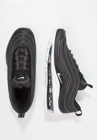 Nike Sportswear - AIR MAX 97 UNISEX - Sneakersy niskie - black/white - 0