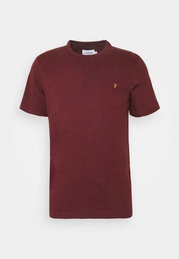 DANNY TEE - T-shirt - bas - red marl
