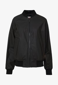 Hunter ORIGINAL - WOMENS ORIGINAL LIGHTWEIGHT JACKET - Faux leather jacket - black - 5