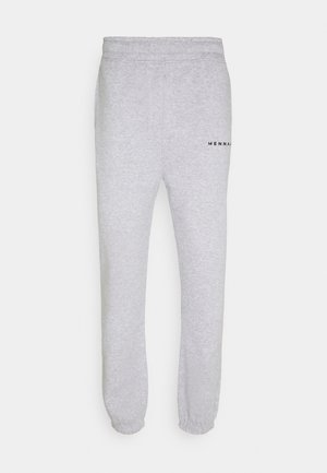 ESSENTIAL UNISEX - Tracksuit bottoms - grey marl