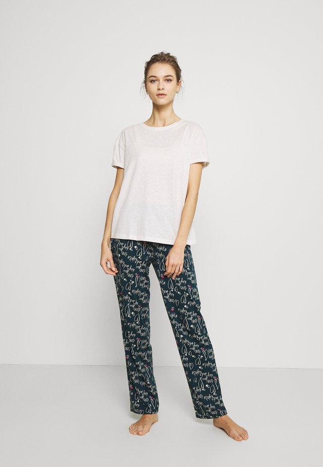 SET - Pyjama - teal mix