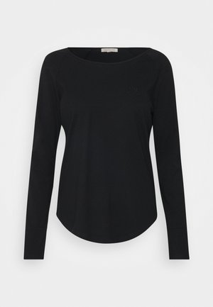 NIKARA - Camiseta de manga larga - black