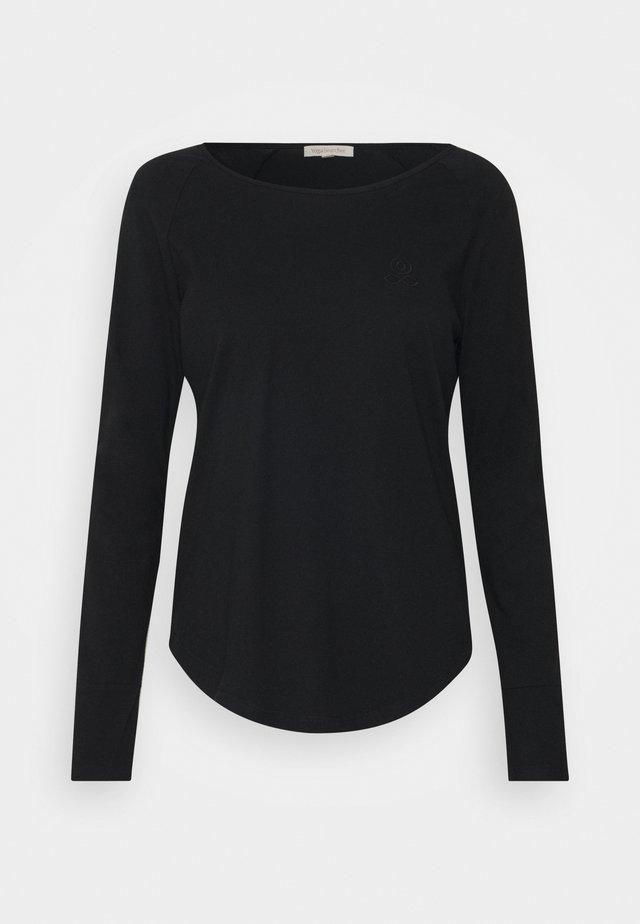 NIKARA - Långärmad tröja - black