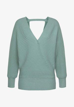 Jersey de punto - lindgrün