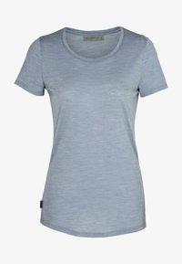 Icebreaker - Basic T-shirt - gravel hthr - 2