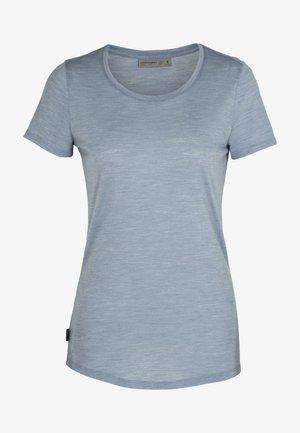T-shirt basic - gravel hthr