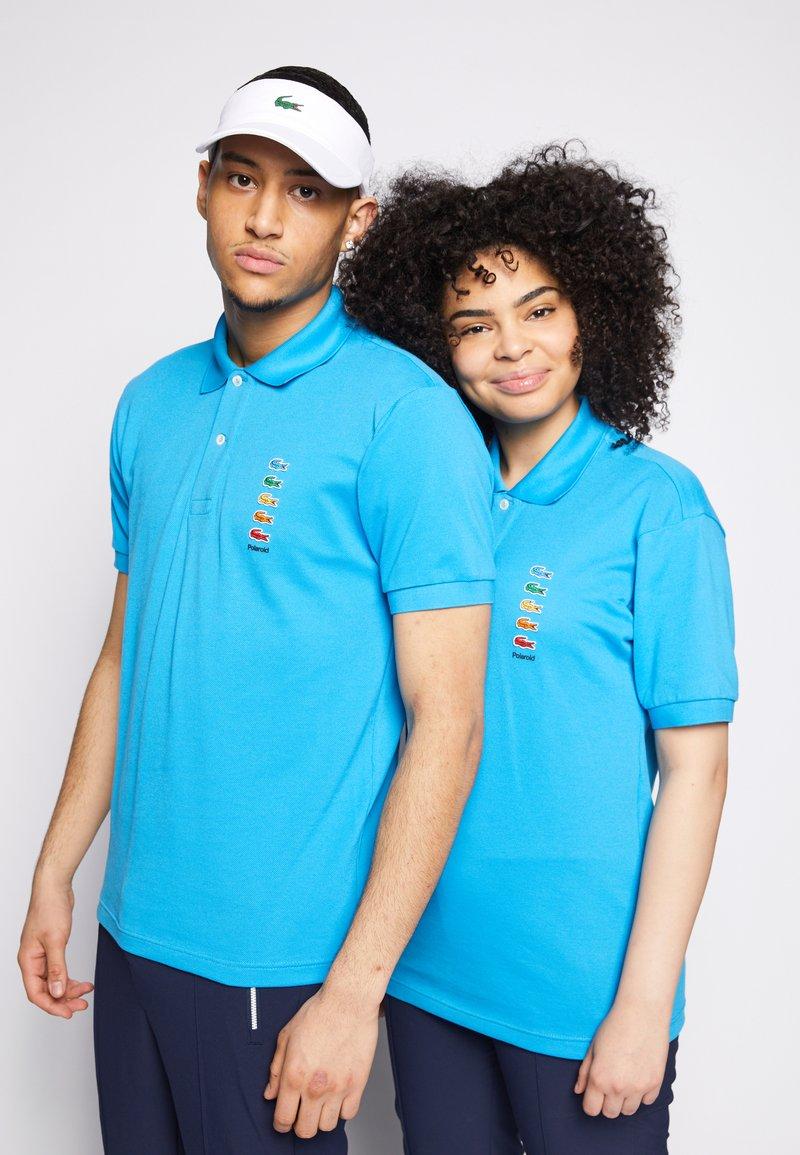 Lacoste - POLAROID UNISEX - Polo shirt - blue