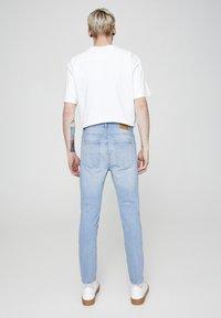PULL&BEAR - Slim fit jeans - light blue - 2