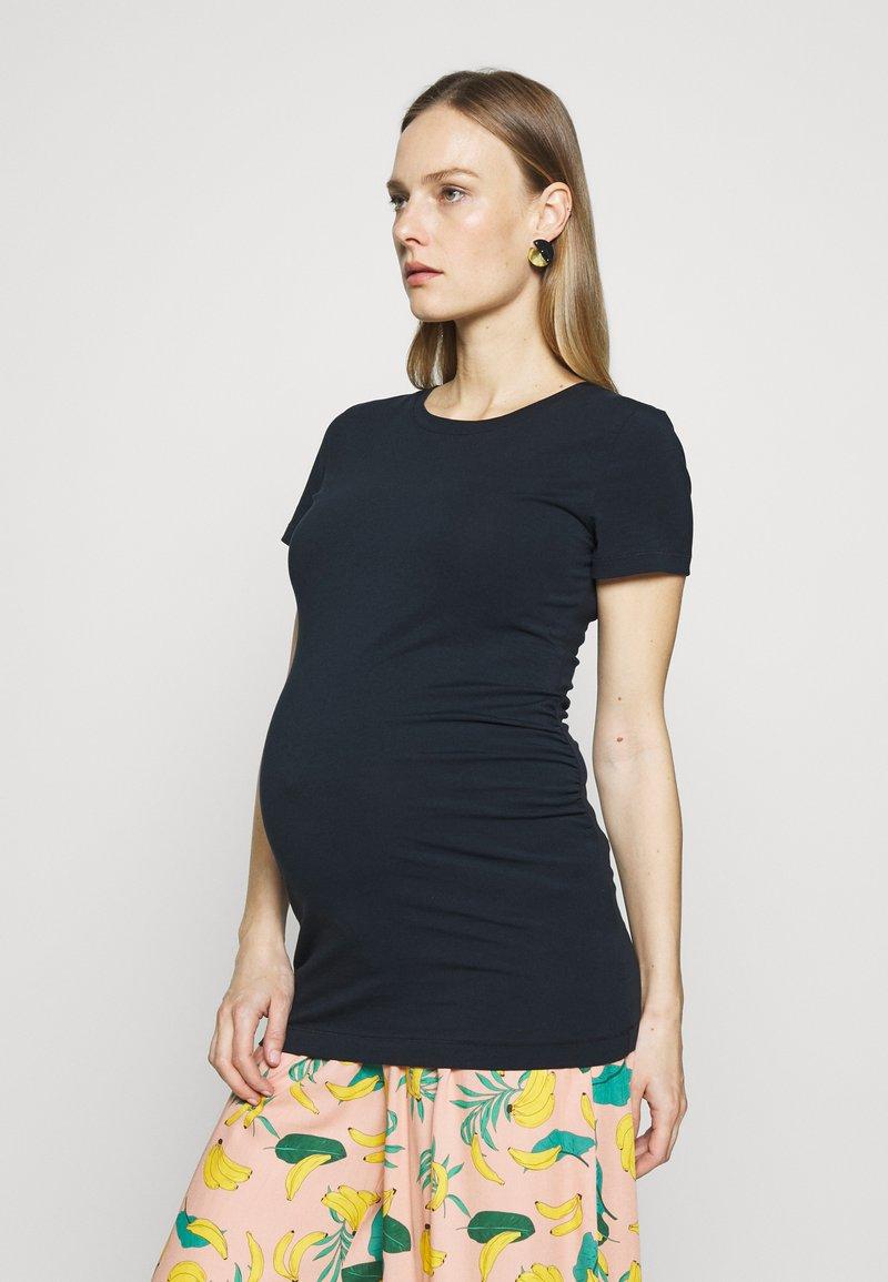 GAP Maternity - PURE CREW - Basic T-shirt - true navy