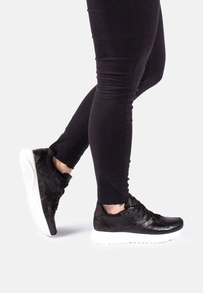 Woden - SOPHIE SNAKE - Sneakers - black