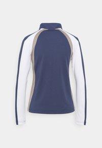 Daily Sports - ROXA HALF NECK - Long sleeved top - baltic - 1