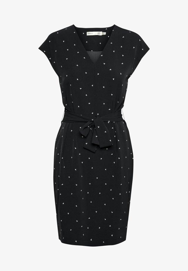 ZANETAIW - Vardagsklänning - black spaced dots