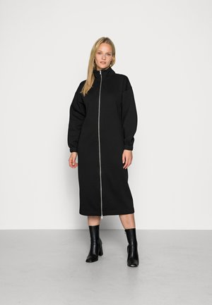 OBJLULU LONG DRESS - Sukienka letnia - black