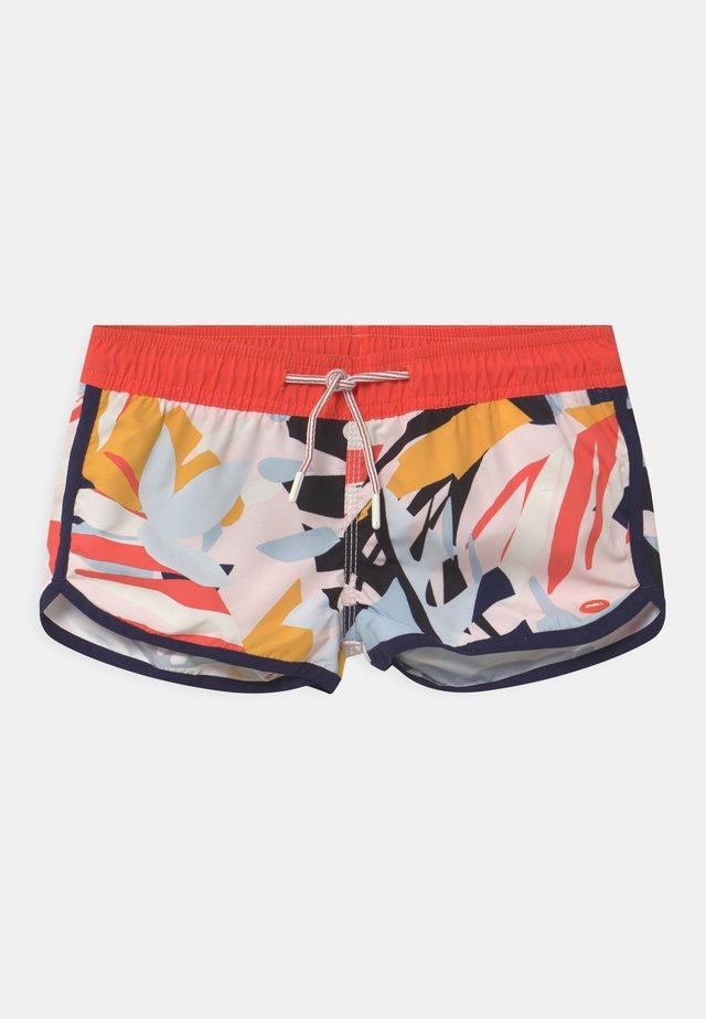 PRINT BEACH - Swimming shorts - pink