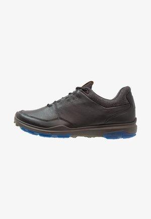 BIOM HYBRID 3 - Golfové boty - black/bermuda blue