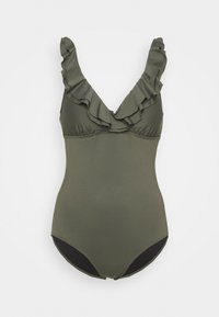 SWIMSUIT - Swimsuit - olive green