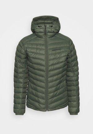 FROST HOOD JACKET - Down jacket - thrill green