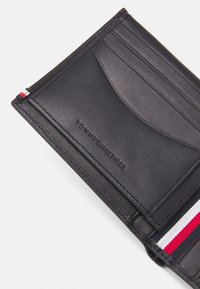 Tommy Hilfiger - BUSINESS FLAP AND COIN - Wallet - black - 5