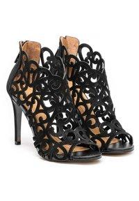 Kazar - MEGAN - High heeled sandals - black - 1