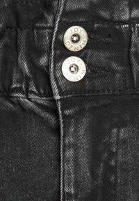 JDY - JDYSIGNE LIFE PAPERWAIST SKIRT - Denim skirt - black denim - 2