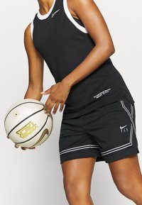 Nike Performance - FLY CROSSOVER SHORT - Sports shorts - black/white - 3