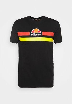 APRELA TEE - Print T-shirt - black