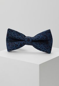 Calvin Klein - ALL OVER LOGO BOW TIE - Bow tie - blue - 0