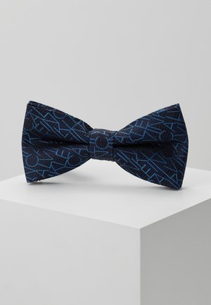 ALL OVER LOGO BOW TIE - Motýlek - blue