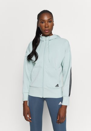 veste en sweat zippée - mint