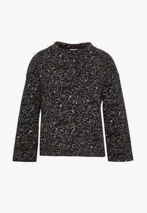 NMLOLA - Sweatshirt - black/ecru
