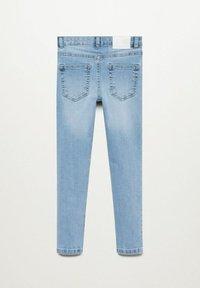 Mango - Jeans Skinny - lichtblauw - 1
