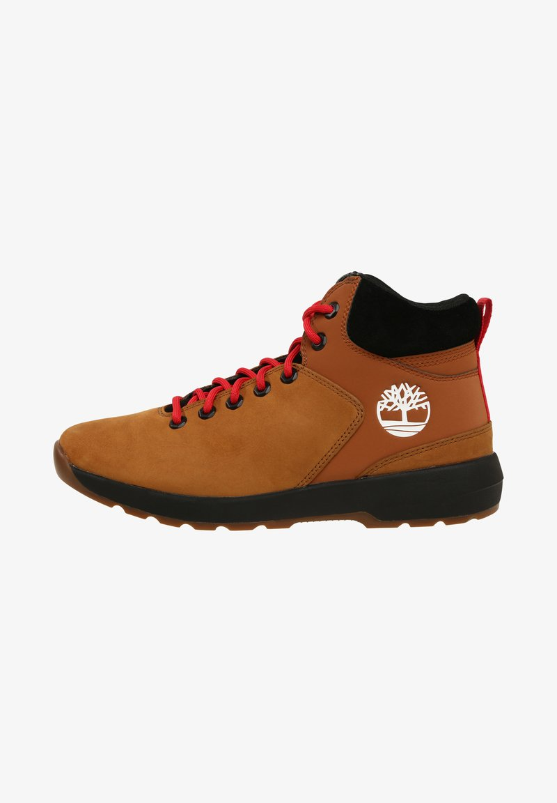 Timberland - WESTFORD - Lace-up ankle boots - rust nubuck