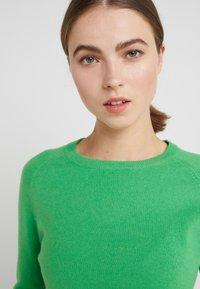 pure cashmere - CLASSIC CREW NECK  - Svetr - green - 4