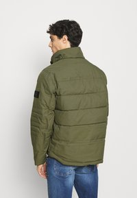 Tommy Hilfiger - REMOVABLE HOODED BOMBER - Winterjacke - green - 3