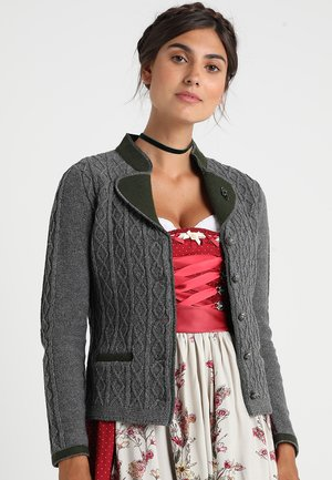 STRICK - Strickjacke - anthracite