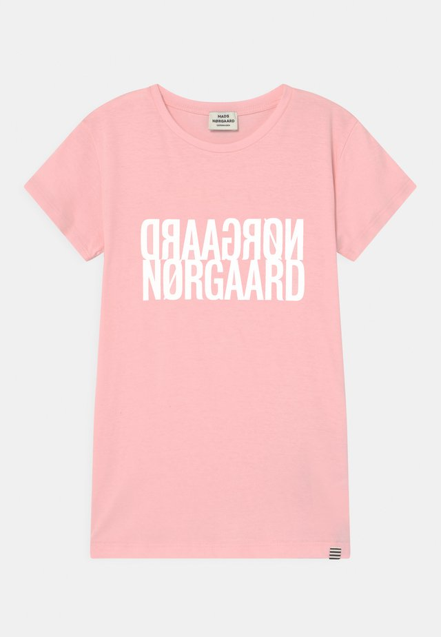 TUVINA UNISEX - Print T-shirt - light pink