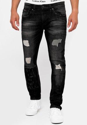 MCINTYRE - Jeans Straight Leg - black