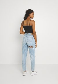 American Eagle - MOM JEANS - Jeans straight leg - high tide - 2