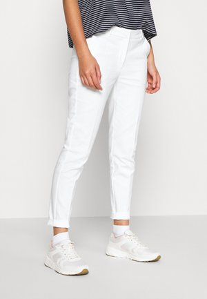DICTE PANTS - Pantalones - off white