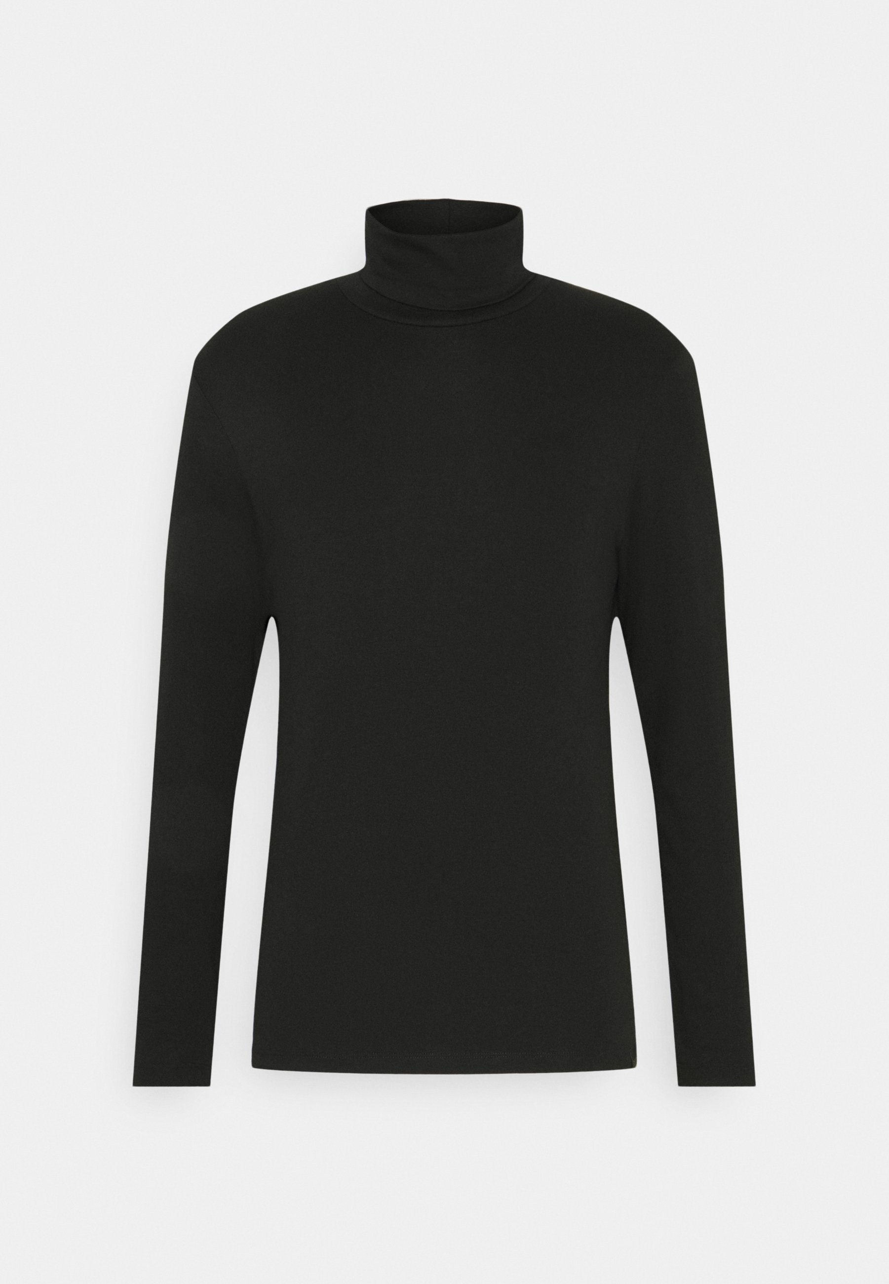 Tom Tailor Basic Turtle Neck Longsleeve - Langarmshirt Black