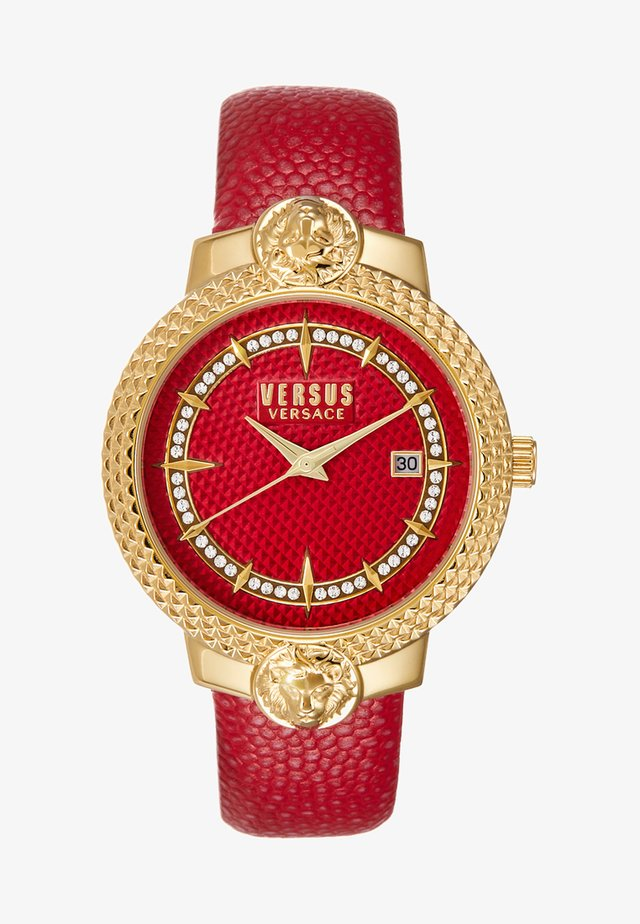 MOUFFETARD - Horloge - red