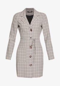 Fashion Union - ETTIE - Robe chemise - black/cream/brown - 3