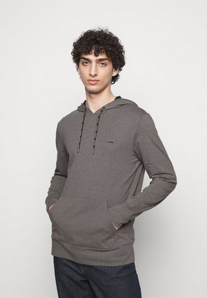 LONG SLEEVE HOODIE - Sweatshirt - black