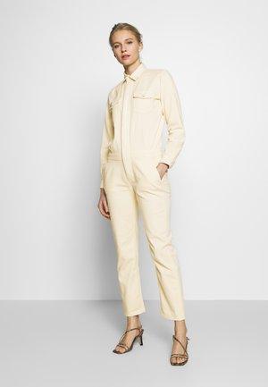 Overall / Jumpsuit /Buksedragter - scandinavian white