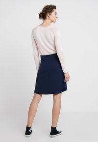Freequent - A-line skirt - navy - 2