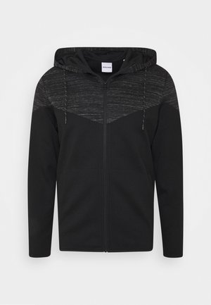 JJBANG ZIP HOOD - Zip-up hoodie - black
